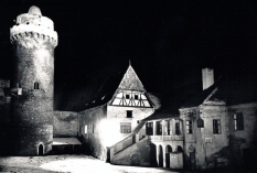 Strakonice Castle, where the festival took place.
