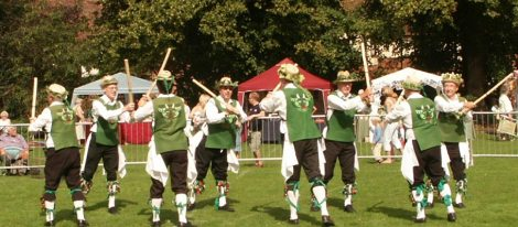 Dancing 'Vandals of Hammerwich' from the Lichfield tradition