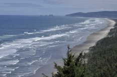 Looking towards Oceanside from Cape Lookout
