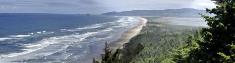 From Cape Lookout, looking north to Cape Mears