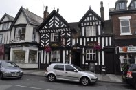 The White Lion - immediately across the road from the Chronicle office.