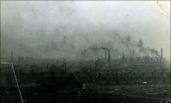 Smoke over Tunstall.