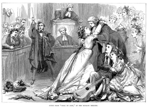 From: http://en.wikipedia.org/wiki/Trial_by_Jury
