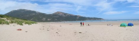 The beach at Wilson's Promontory