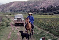 Near Cuzco in southern Peru, 1974