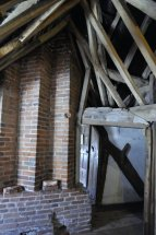 Original Tudor chimneys.