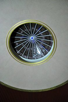 Ceiling above the Nash staircase