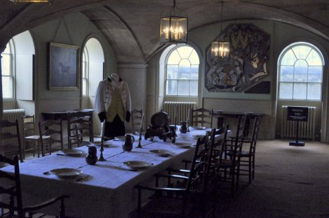 The servants hall