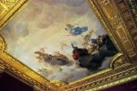 The ceiling of the Red Drawing Room
