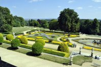 The Parterre from the first floor