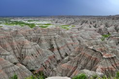 The Badlands after the storm . . .