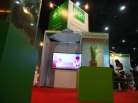 The IRRI booth