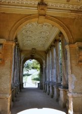 Crossing the Palladian Bridge