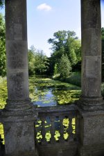 Looking southeast from the Palladian Bridge