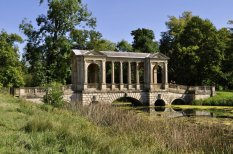 The Palladian Bridge from the east bank of the lake