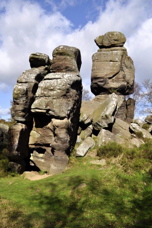 Brimham Rocks A Balanced Diet