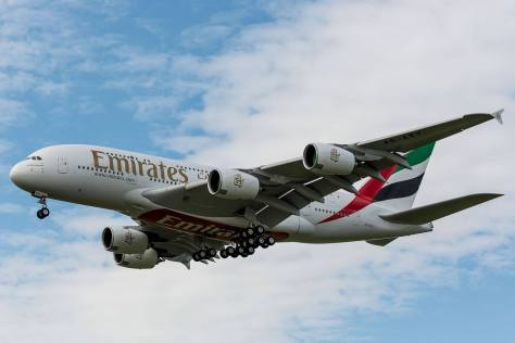 From Emirates Facebook page