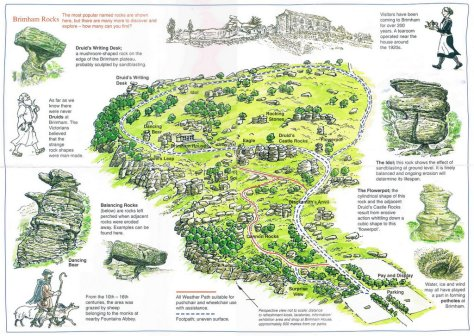 ©2002 The National Trust – inlcuded here for illustrative purposes and to encourage visitors to Brimham Rocks
