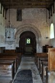 Looking towards the chancel from the tower door.