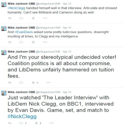 clegg-davis tweets