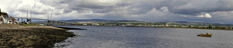 This bridge, west of Inverness, carries the A( across the Moray Firth into Ross and Cromarty