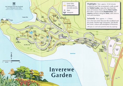 Inverewe map