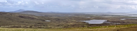 North Uist towards Lochmaddy