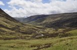 Glen Shee, looking south