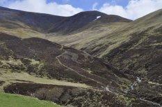 Glen Shee, looking north