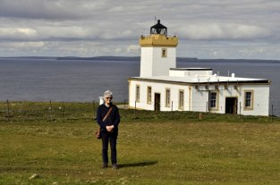 The Duncansby lighthouse.
