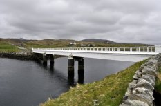 The bridge connecting Lewis and Great Bernera