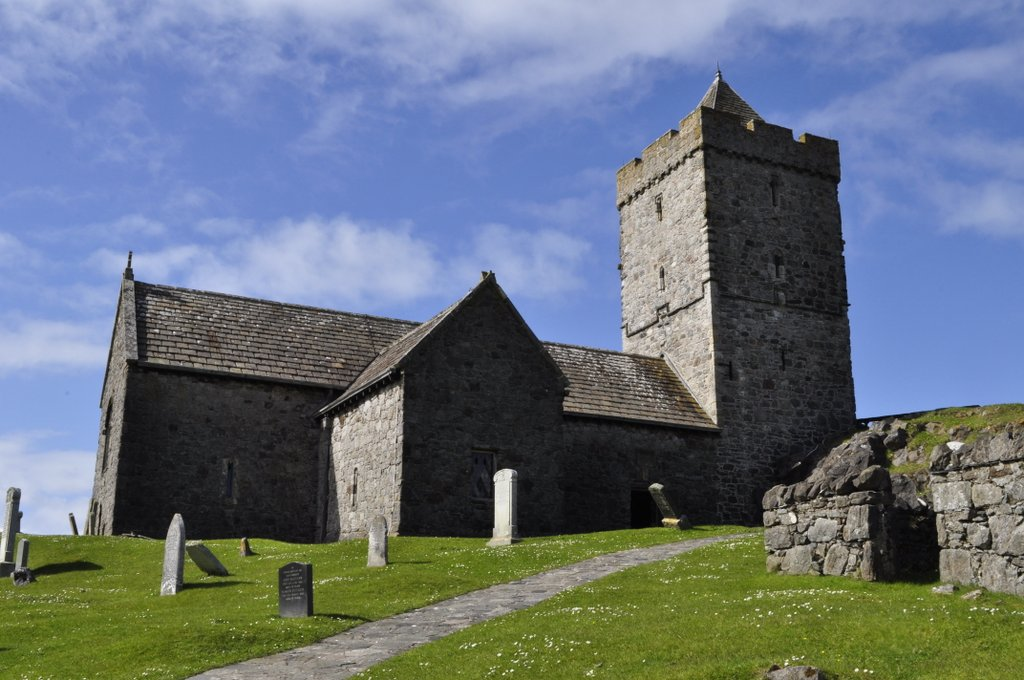 St Clement's Church at Rodel | A balanced diet