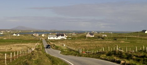 On the A865 towards Clachan from Balranald, North Uist
