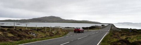 The causeway connecting South Uist and Eriskay