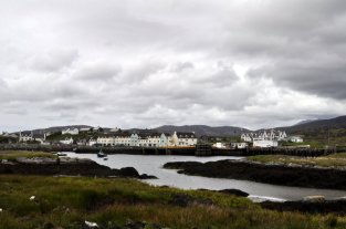 The harbour at Lochboisdale, South Uist