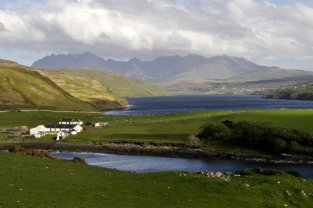 The Cuillin Mountains of Skye