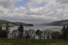 Loch Awe, from the southern end