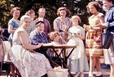 My mum, Lilian Jackson, is sitting next to Doris Archer.