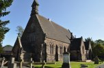 Holy Trinity Church in Mossley.
