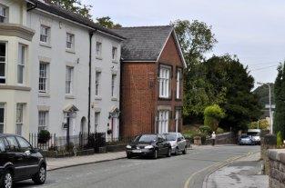 13 Moody Street - with the red door.
