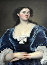 'A Lady in Blue', painted by Joseph Highmore in 1734.