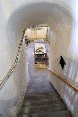 The game room, built deep underground.