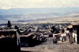 Looking over Ayacucho.