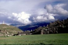 The Sacsayhuaman fortress.