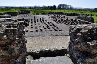 Wroxeter Roman city, Shropshire, south of Shrewsbury