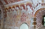 Frescoes at St Mary's Church, Kempley