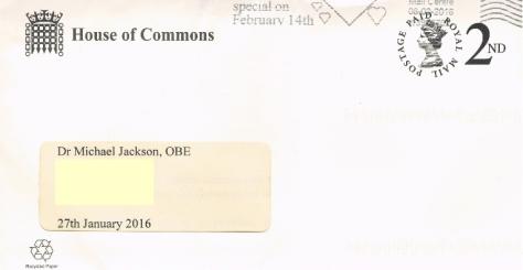 HoC envelope