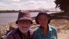 At Fort Defiance, at the southernmost tip of Illinois, at the confluence of the Mississippi and Ohio Rivers
