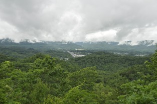 Overlooking the Cumberland Gap