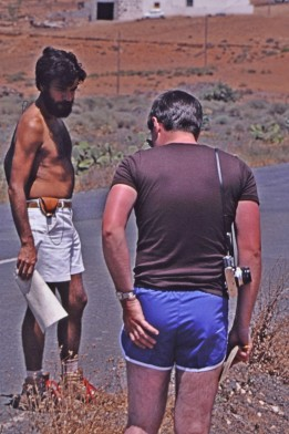 Arnoldo and Brian in Fuerteventura